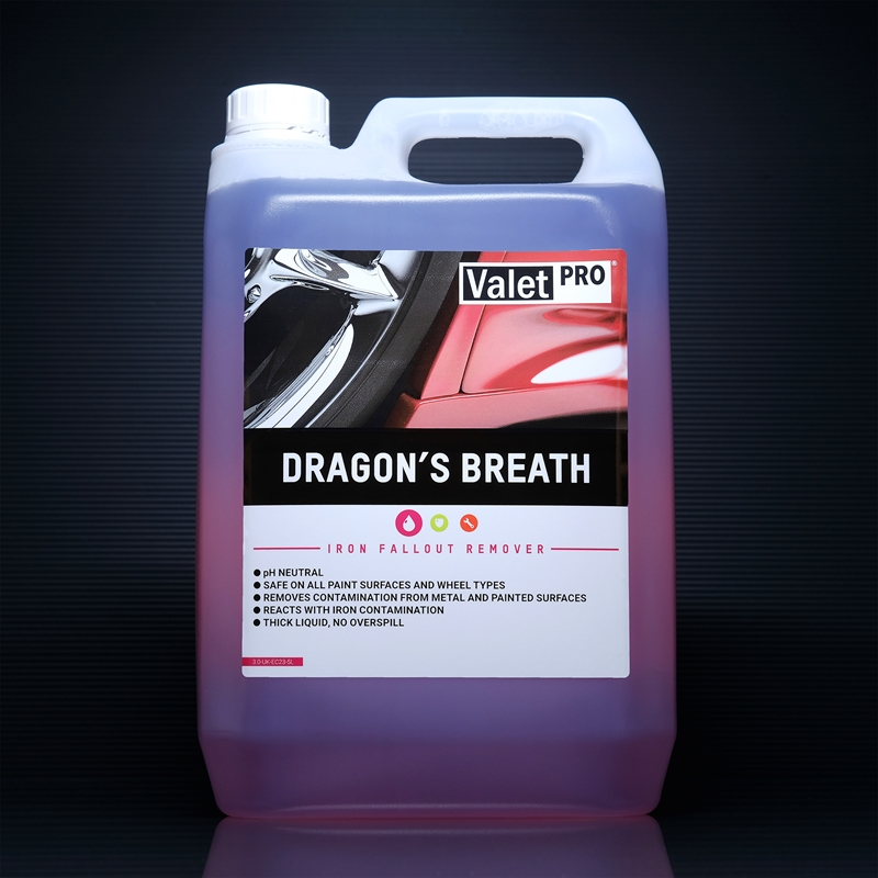 Dragons Breath 5L front label